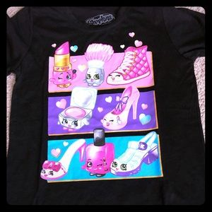 Shopkins girls medium (7/8) T-shirt